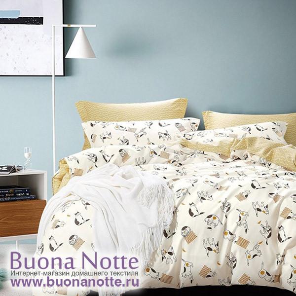 Комплект постельного белья Asabella 1010-4S (размер 1,5-спальный)