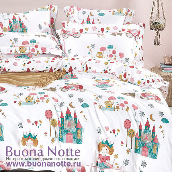 Комплект постельного белья Asabella 1094-S (размер 1,5-спальный)