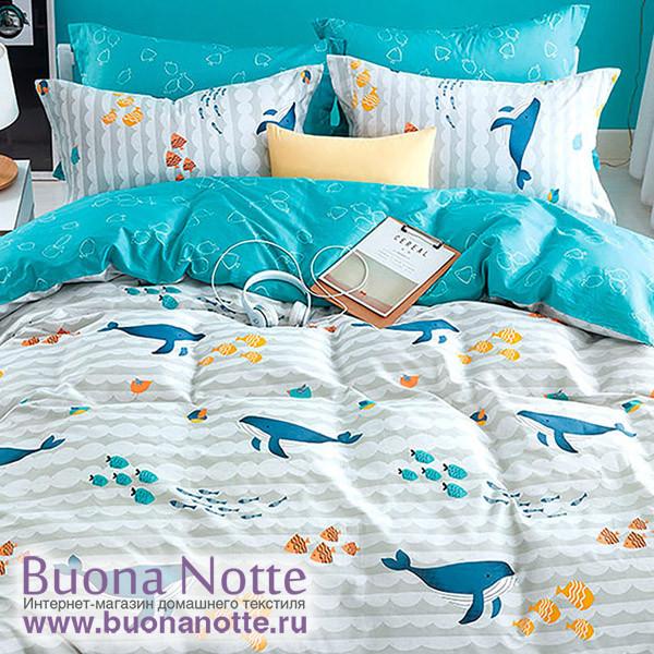 Комплект постельного белья Asabella 1134-S (размер 1,5-спальный)