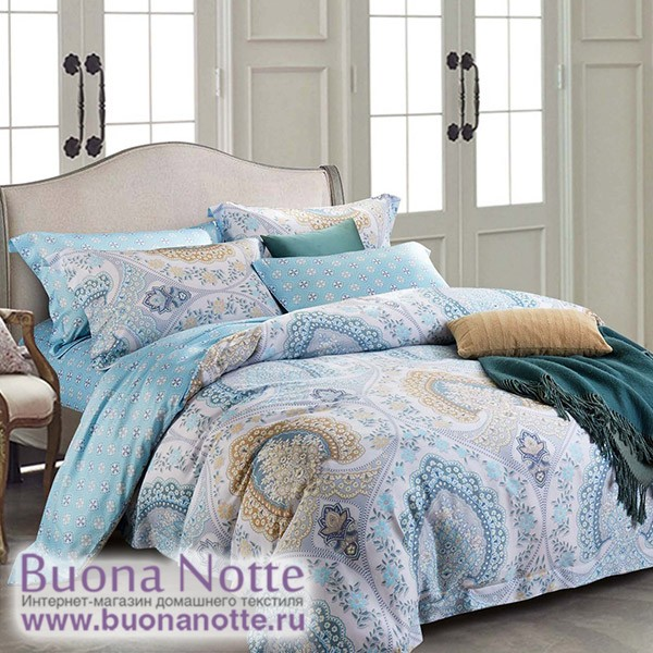 Комплект постельного белья Asabella 115 (размер евро)