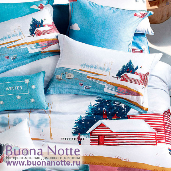 Комплект постельного белья Asabella 1186 (размер евро)
