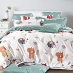 Комплект постельного белья Asabella 1344-4XS (размер 1,5-спальный)