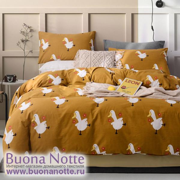 Комплект постельного белья Asabella 1351 (размер евро-плюс)