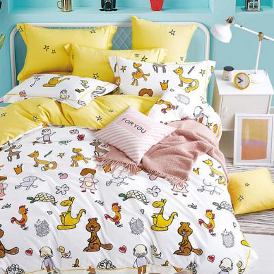 Комплект постельного белья Asabella 1358-4S (размер 1,5-спальный)