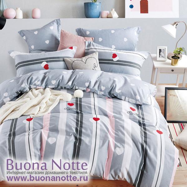 Комплект постельного белья Asabella 1393 (размер евро-плюс)