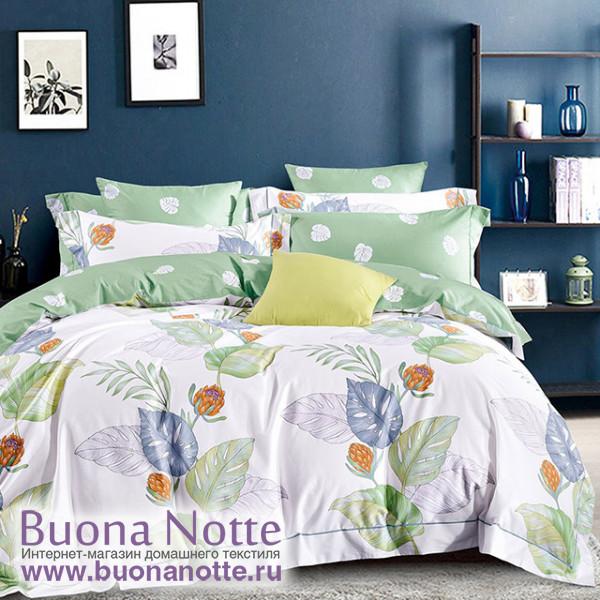 Комплект постельного белья Asabella 1467 (размер евро-плюс)