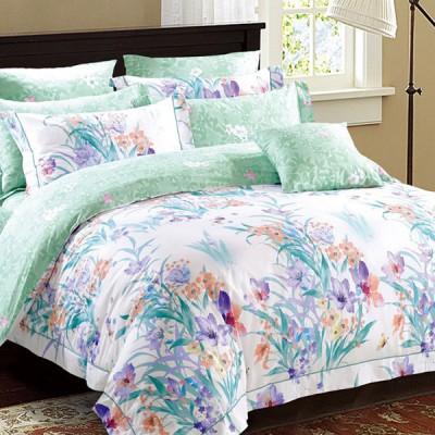 Комплект постельного белья Asabella 164 (размер евро-плюс)