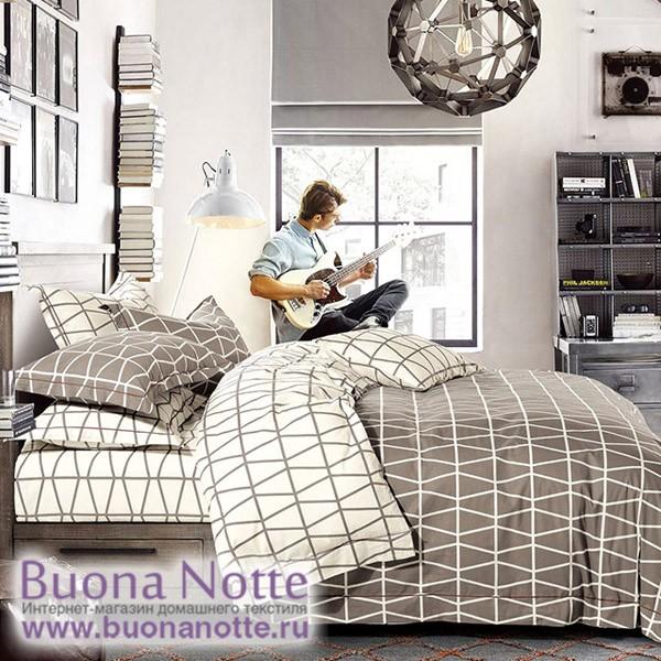 Комплект постельного белья Asabella 350 (размер 1,5-спальный)