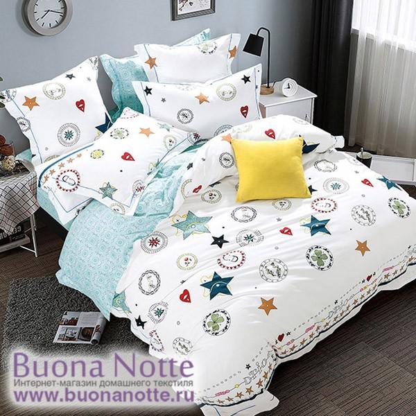 Комплект постельного белья Asabella 394-S (размер 1,5-спальный)