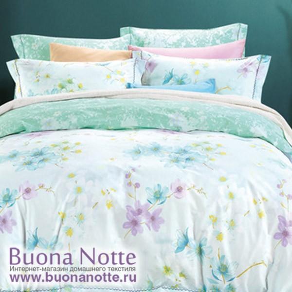 Комплект постельного белья Asabella 991/180 на резинке (размер евро)