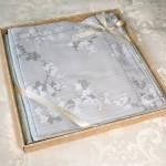 Комплект простыни 240х260 см с двумя наволочками 50х70 см из сатина тенсель Asabella 1051-3P