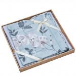 Комплект простыни 180х245 см с двумя наволочками 50х70 см из сатина тенсель Asabella 1445-3PS