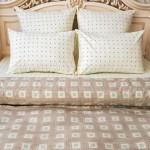 Постельное белье Balimena бязь Axton Beige (размер 1,5-спальный, наволочки 50х70 см)
