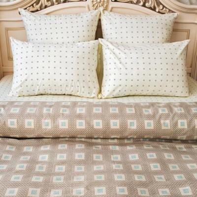 Постельное белье Balimena бязь Axton Beige (размер 2-спальный, нав.50х70 см)