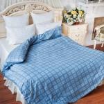 Постельное белье Balimena бязь Axton Blue (размер 1,5-спальный, наволочки 50х70 см)