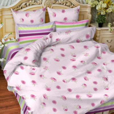 Постельное белье Balimena бязь Angelika (размер 1,5-спальный, нав.50х70 см)