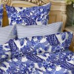 Постельное белье Balimena бязь Blue night (размер 1,5-спальный, наволочки 50х70 см)