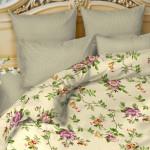 Постельное белье Balimena бязь New rose (размер 2-спальный, наволочки 70х70 см)