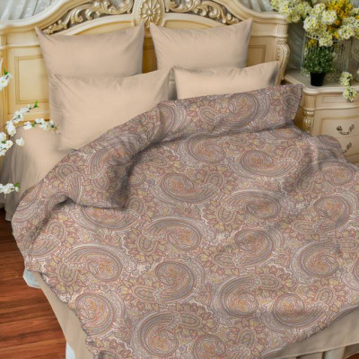 Постельное белье Balimena бязь Sahara brown (размер 2-спальный, нав.70х70 см)