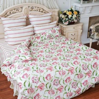 Постельное белье Balimena бязь Dancing Tulip (размер 1,5-спальный, нав.70х70 см)