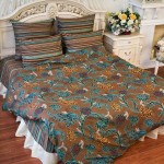 Постельное белье Balimena бязь Glass House Brown (размер 1,5-спальный, наволочки 50х70 см)