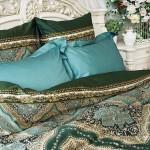 Постельное белье Balimena Магия шелка Эсмеральда (размер Семейный)