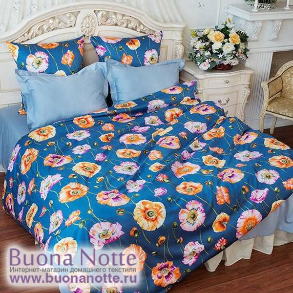 Постельное белье Balimena Магия шелка Маки (размер 1,5-спальный)