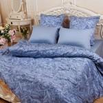 Постельное белье Balimena Магия шелка Розариум блю (размер 2-спальный)