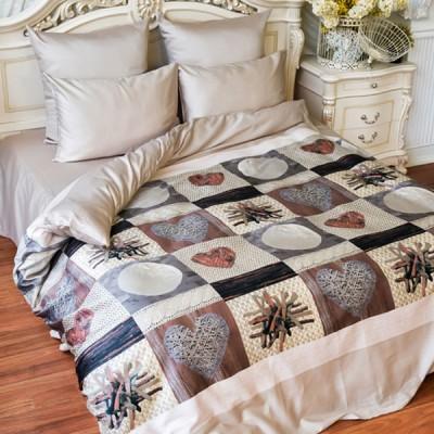 Постельное белье Balimena мако-сатин 8557 (размер 1,5-спальный, нав.70х70 см)