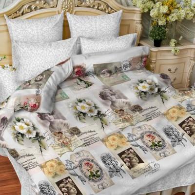 Постельное белье Balimena мако-сатин 33456 Snap (размер 1,5-спальный, нав.70х70 см)