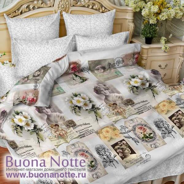 Постельное белье Balimena мако-сатин 33456 Snap (размер Семейный, наволочки 70х70 см)