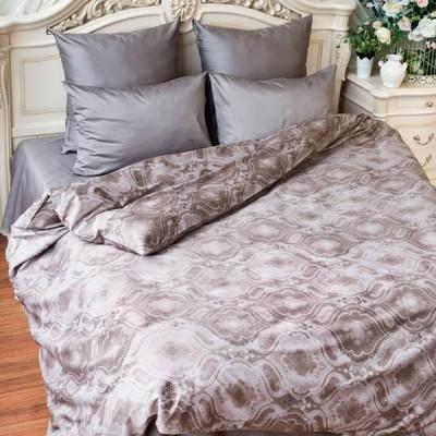 Постельное белье Balimena мако-сатин Gordon Grey (размер 1,5-спальный, нав.70х70 см)