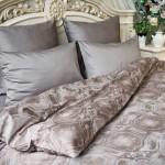 Постельное белье Balimena мако-сатин Gordon Grey (размер Семейный, наволочки 50х70 см)