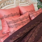 Постельное белье Balimena мако-сатин Wool Threads (размер 1,5-спальный, наволочки 50х70 см)
