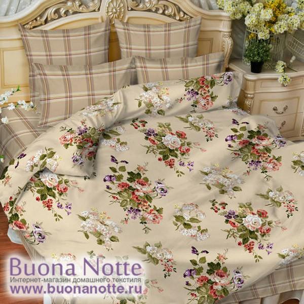 Постельное белье Balimena мако-сатин Angelo (размер Евро, наволочки 50х70 см)