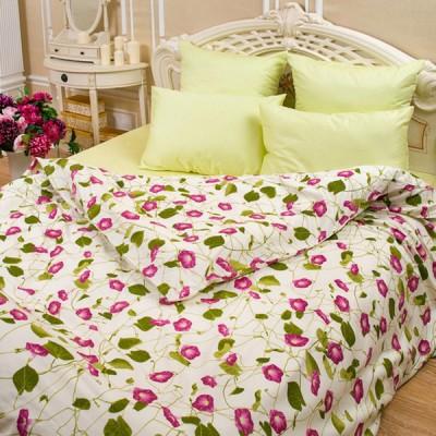 Постельное белье Balimena мако-сатин Binweed Pink (размер 1,5-спальный, нав.50х70 см)