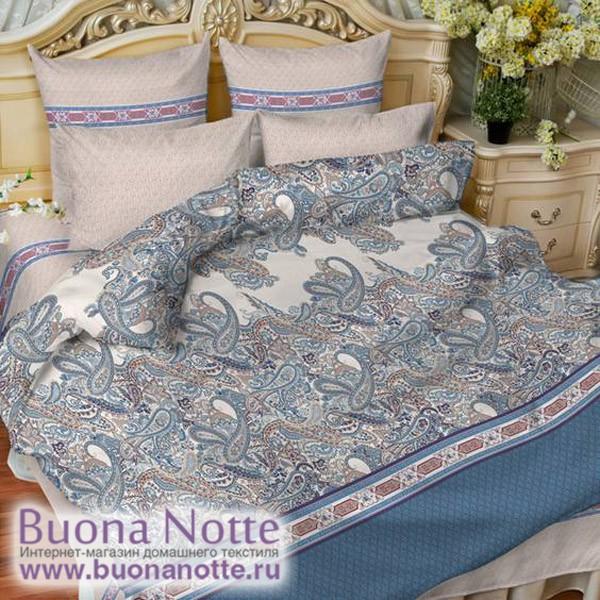 Постельное белье Balimena мако-сатин Cashmir (размер 1,5-спальный, наволочки 50х70 см)