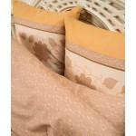 Постельное белье Balimena мако-сатин CL-8241 Beige (размер Семейный, наволочки 50х70 см)