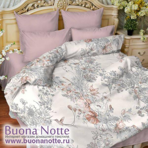 Постельное белье Balimena мако-сатин Colibri (размер 2-спальный, наволочки 70х70 см)