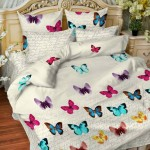 Постельное белье Balimena мако-сатин Giardani (размер 1,5-спальный, наволочки 70х70 см)
