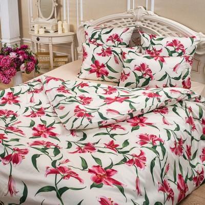 Постельное белье Balimena мако-сатин Lily (размер 1,5-спальный, нав.70х70 см)