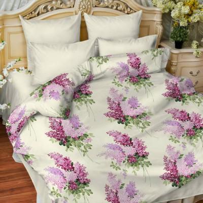 Постельное белье Balimena мако-сатин Ricardo lilac (размер 2-спальный, нав.50х70 см)