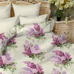 Постельное белье Balimena мако-сатин Ricardo lilac (размер 1,5-спальный, наволочки 50х70 см)