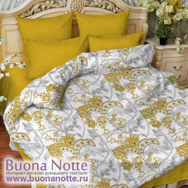 Постельное белье Balimena мако-сатин Sidonie (размер Семейный, наволочки 70х70 см)