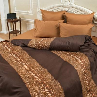 Постельное белье Balimena мако-сатин Snake Skin (размер 2-спальный, нав.50х70 см)