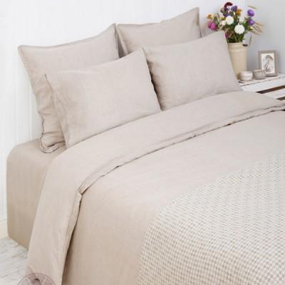 Комплект постельного белья Bovi Linen натуральный (размер 1,5-спальный)