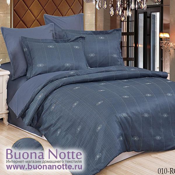 Комплект постельного белья Cleo Royal Jacquard 010-RG (размер Семейный)