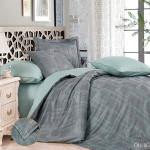 Комплект постельного белья Cleo Royal Jacquard 011-RG (размер Евро)