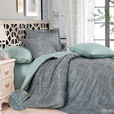 Постельное белье Cleo Royal Jacquard 011-RG (размер Семейный)