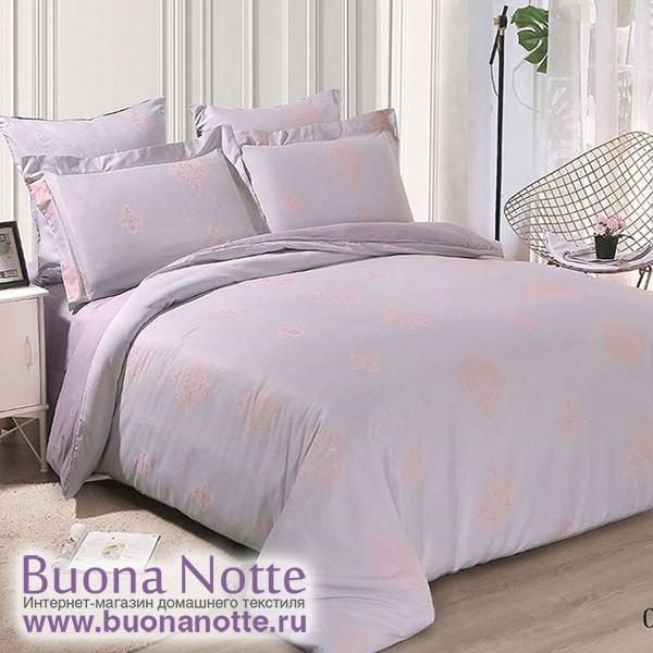Комплект постельного белья Cleo Soft Cotton 018-SC (размер Семейный)